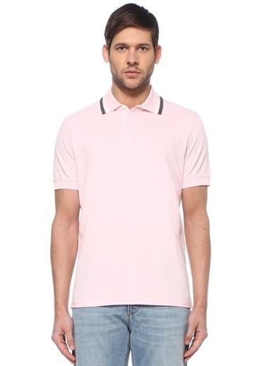Brunello Cucinelli Brunello Cucinelli  Polo Yaka T-shirt 101614596 Pembe